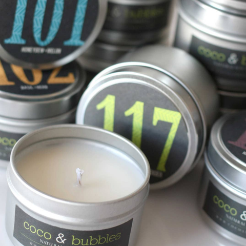 Coco & Bubbles Candles