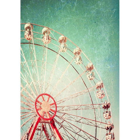 Ferris Wheel Decoupage Paper