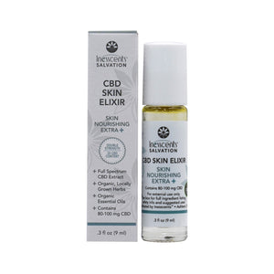 CBD Salvation - Skin Nourishing EXTRA STRENGTH Skin Elixir 9ml Roll-On