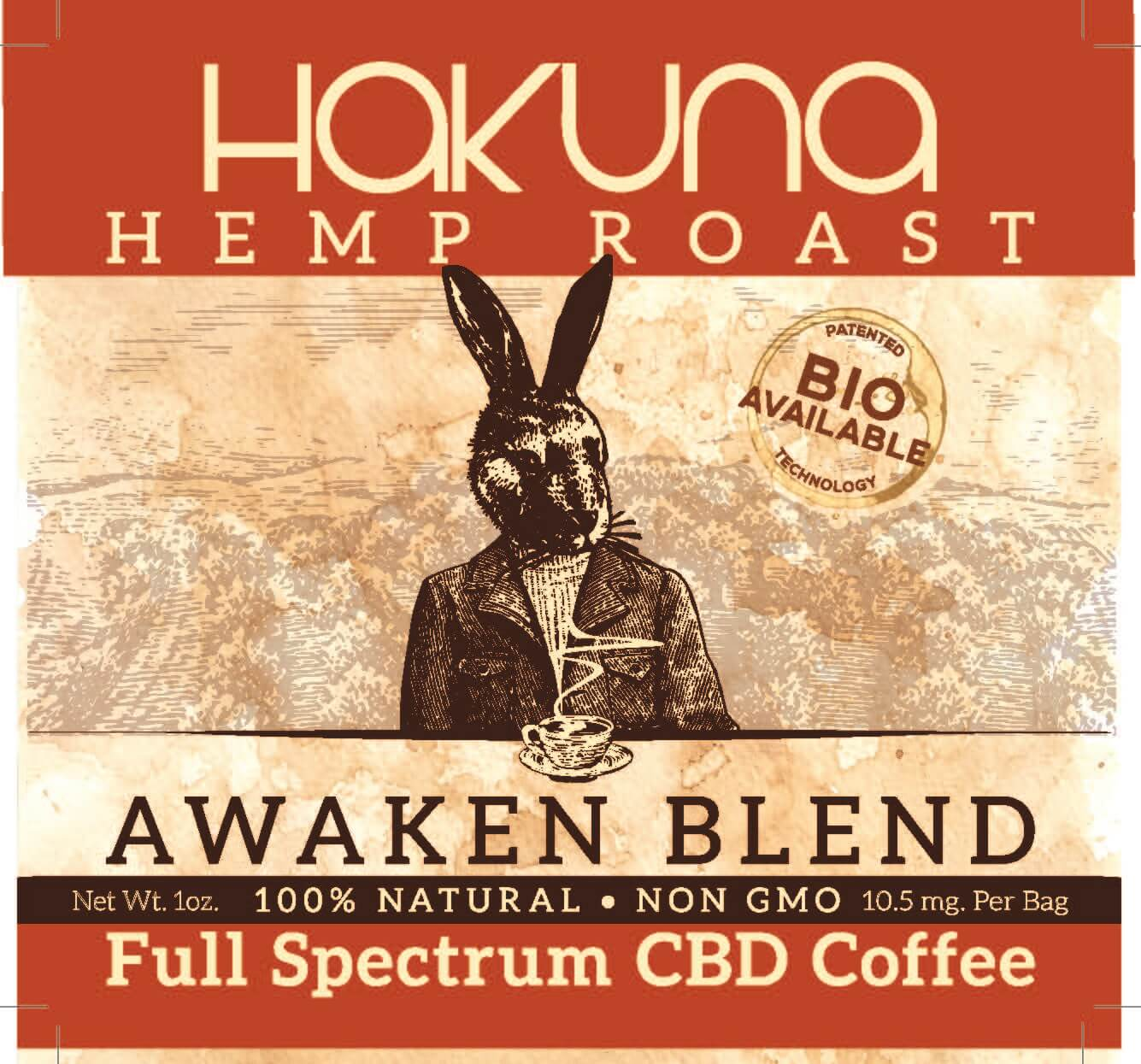 Hakuna Hemp Roast Coffee (1oz)