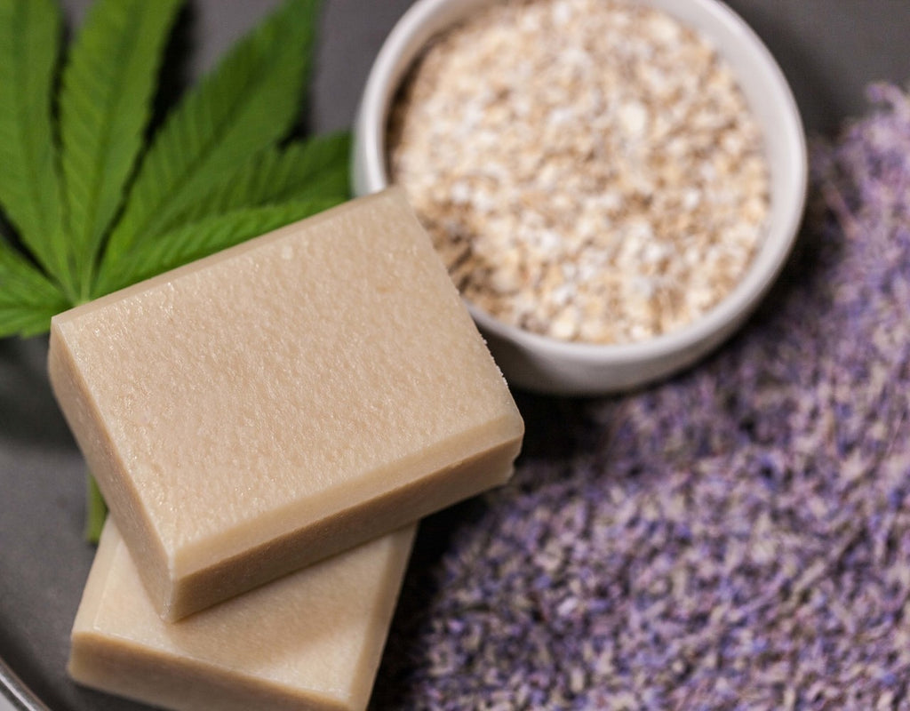 CBD Botanically Infused Soap - Colloidal Oatmeal & Lavender