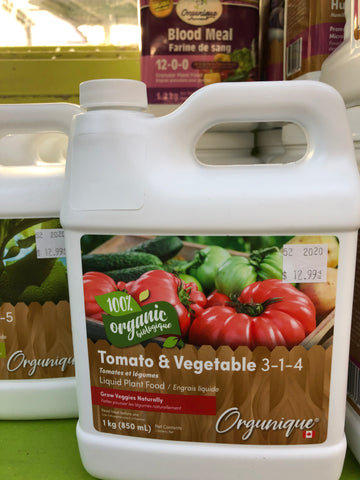 Organic Tomato & Veg Fertilizer 3-1-4