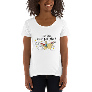 Open image in slideshow, We've Got This! Ladies' Scoopneck T-Shirt