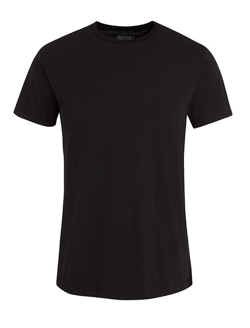 Jockey® Crew Neck Black Undershirt