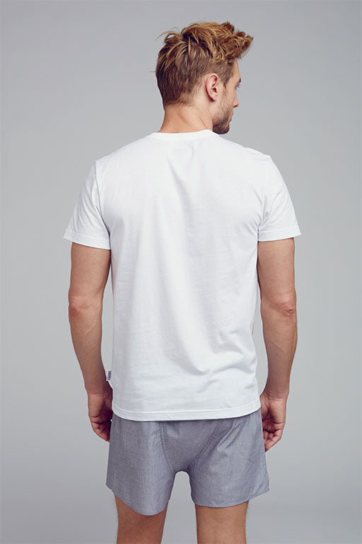 Jockey® Crew Neck White Undershirt