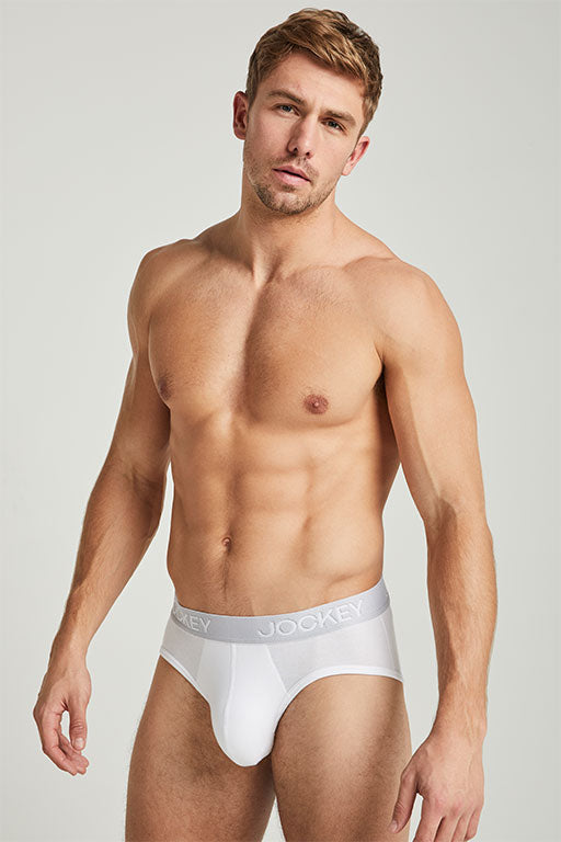 Jockey® 3D-Innovations® White Brief