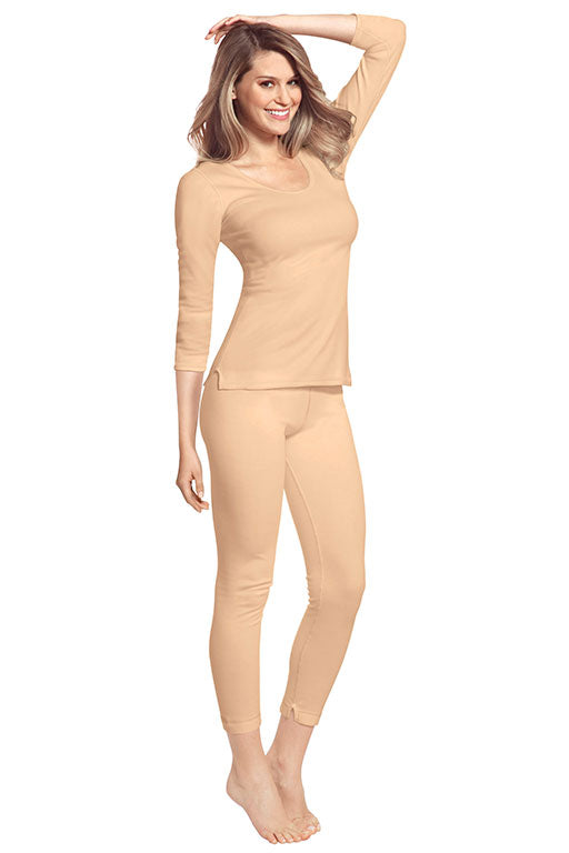 Women's Thermal 3 Quarter Full Suit