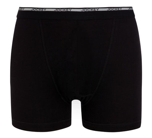 Jockey® Knit Black Boxer