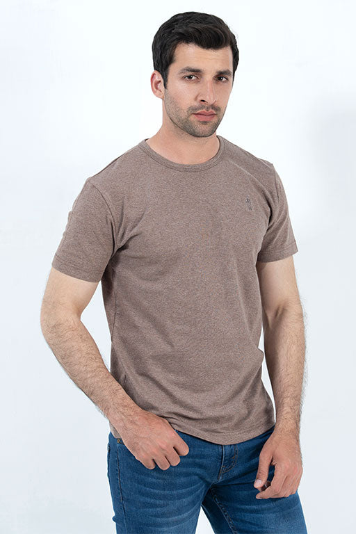 Jockey® Half Sleeves Crew Neck Solid Shirt