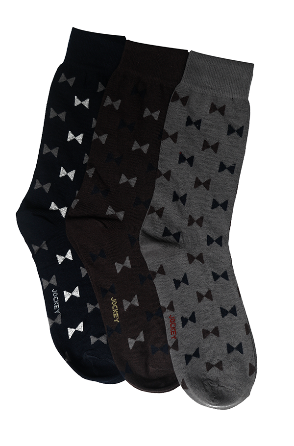 Jockey® Formal Bow Socks 3 Pack
