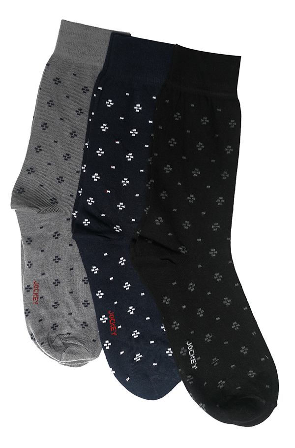 Jockey® Formal Dot Socks 3 Pack