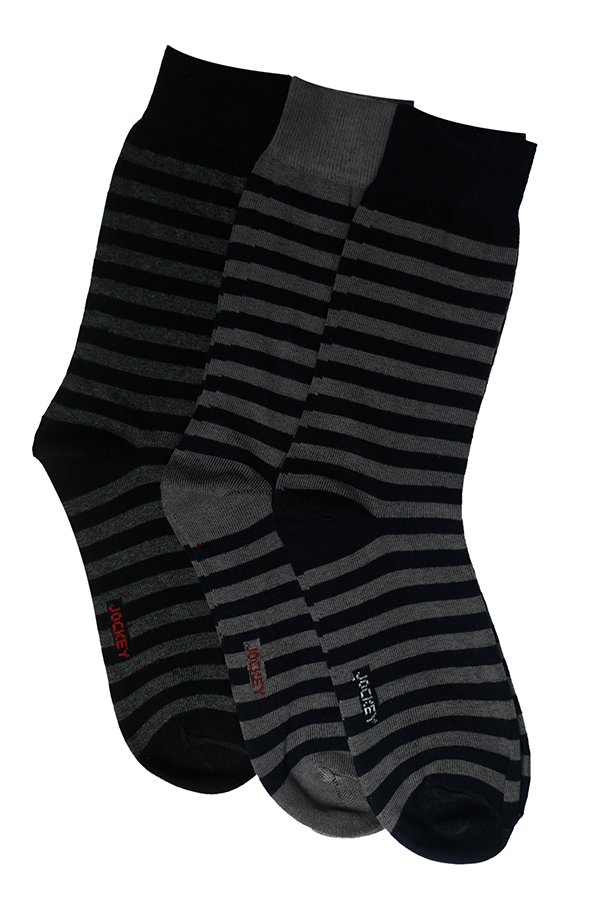 Jockey® Formal Stripe Socks 3 Pack