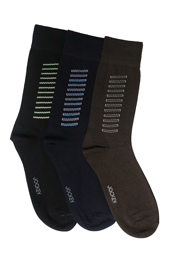 Jockey® Formal Box Stripe Socks 3 Pack