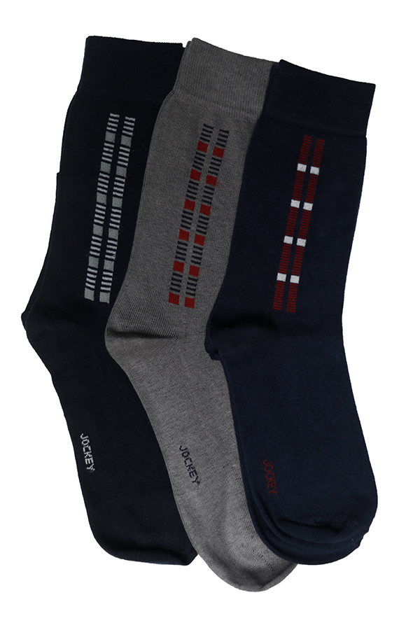 Jockey® Premium Formal Squares Socks 3 Pack