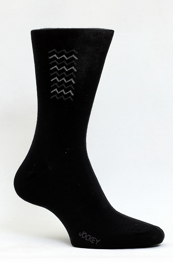 Jockey® Premium Formal Zigzag Socks 3 Pack