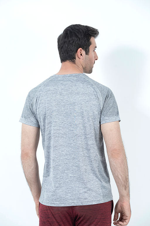 JOCKEY® SPORT  HALF SLEEVES CREW NECK SHIRT