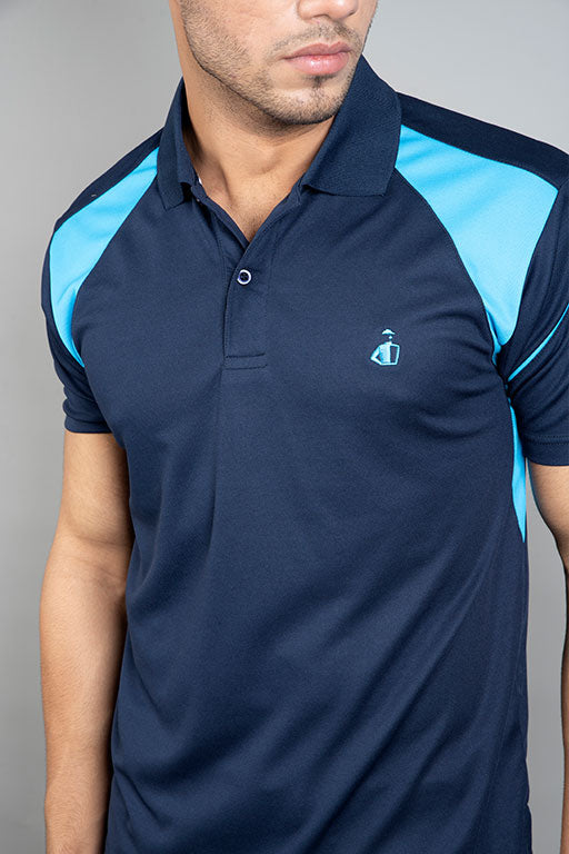 JOCKEY® SPORT  HALF SLEEVES POLO TIPPING SHIRT