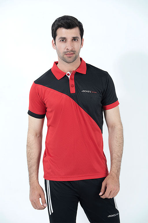 JOCKEY® SPORT  HALF SLEEVES POLO SHIRT