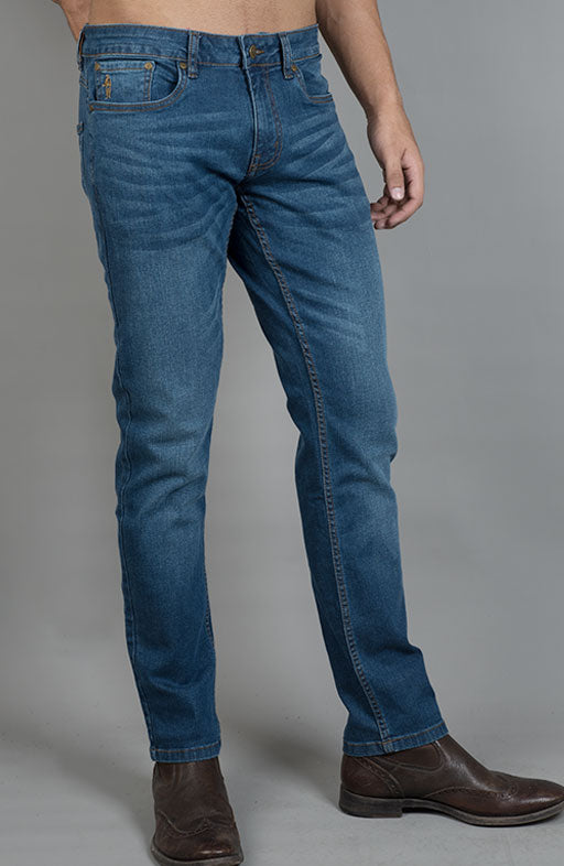 Jockey® Smart Fit Ocean Blue Stretch Denim Jeans