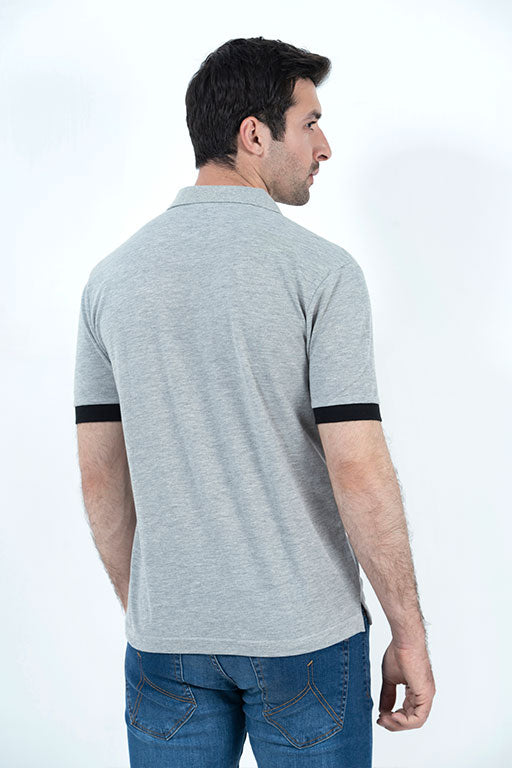 JOCKEY® HALF SLEEVES POLO TIPPING SHIRT