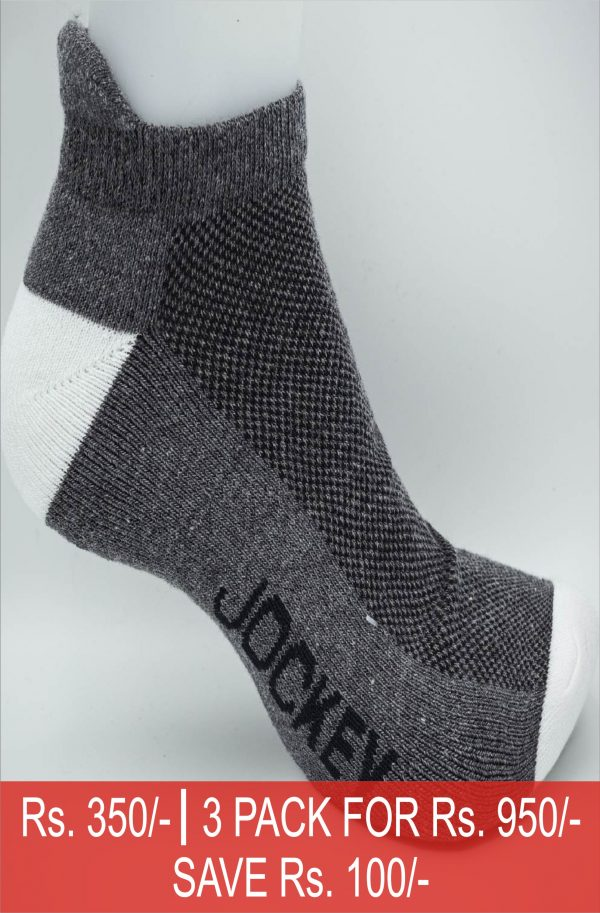 Jockey® Sport Ankle Socks 3 Pack
