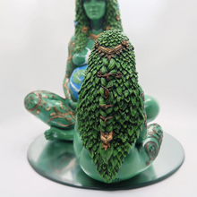 Load image into Gallery viewer, Oberon Zell's masterpiece, THE MILLENNIAL GAIA STATUE!  SMALL 18cm