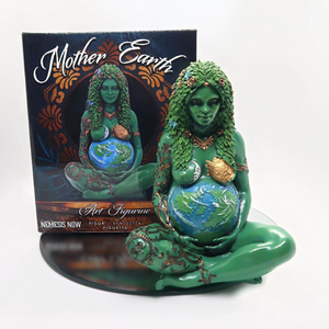 Oberon Zell's masterpiece, THE MILLENNIAL GAIA STATUE!  SMALL 18cm