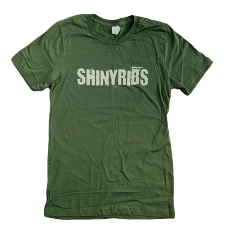 Distressed Logo Tee [Green]