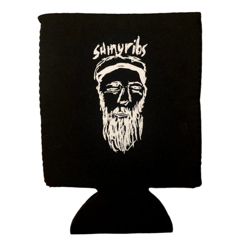 Shinyribs Self-Portrait Sketch Koozie [B&W]