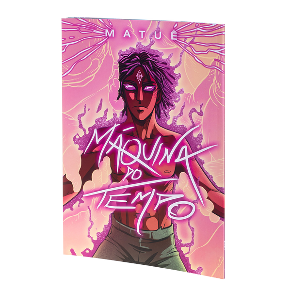 "Comic Book ""Máquina do Tempo"""