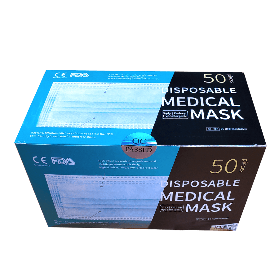 Surgical Masks - 50pc per box
