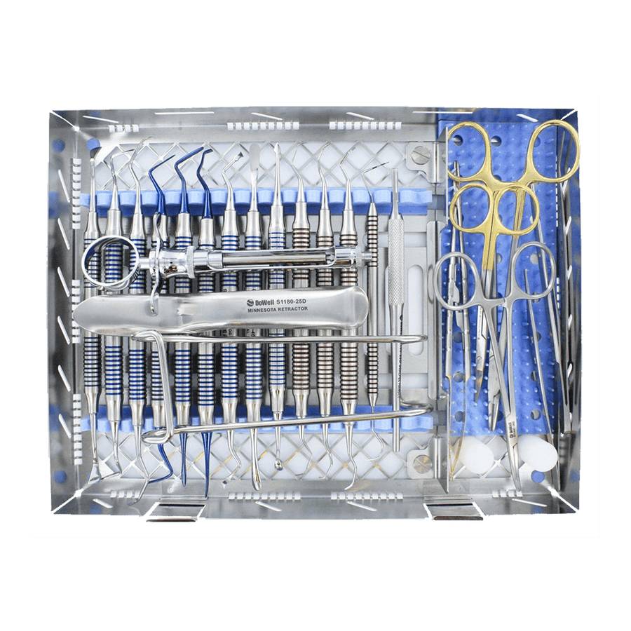 Dowell Implant Periodontal Full Instruments Kit 25pc