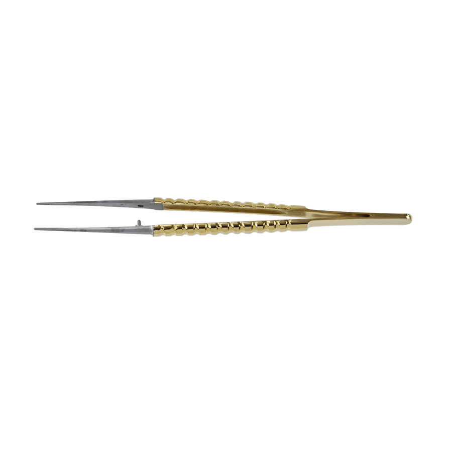 Micro surgery Periodontal Atraumatic Tweezers - Gold Titanium