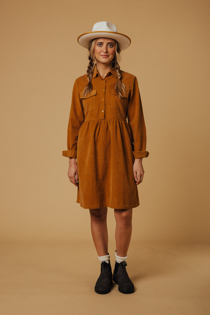 Montana Corduroy Dress