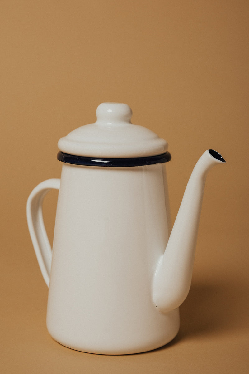Enamel Tea & Coffee Pot.
