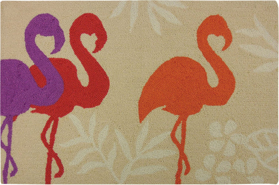 Flamingos Accent Rug - Premier Home & Gifts
