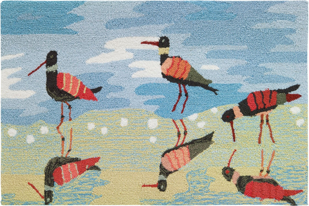 Reflective Sandpipers Accent Rug - Premier Home & Gifts