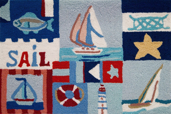 Sailing Day Accent Rug - Premier Home & Gifts