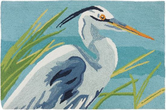 Blue Heron Accent Rug - Premier Home & Gifts