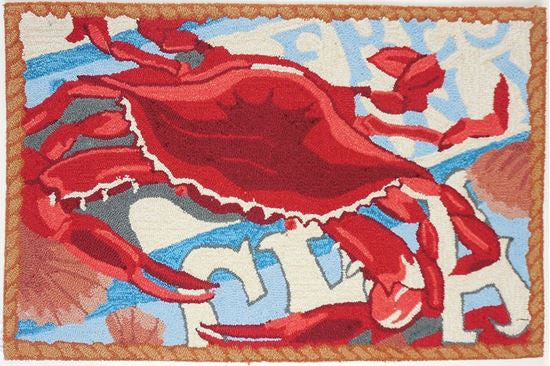 Fresh Catch Crab Accent Rug - Premier Home & Gifts