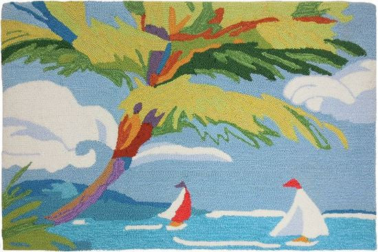 Tropical Sail Accent Rug - Premier Home & Gifts