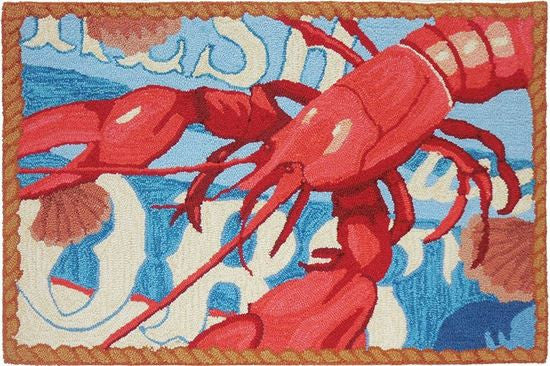 Fresh Catch Lobster Accent Rug - Premier Home & Gifts