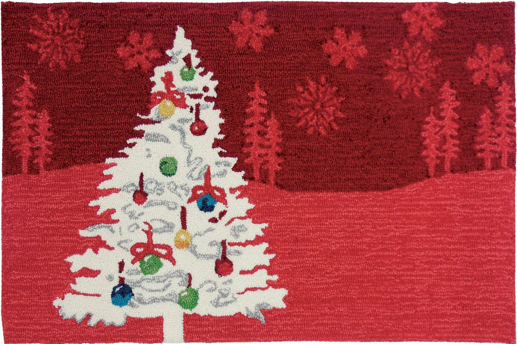 Shimmering Christmas Tree Accent Rug - Premier Home & Gifts