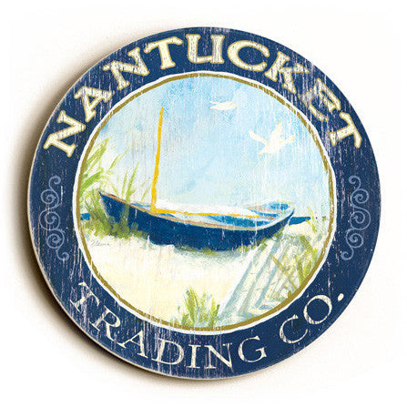 Nantucket Trading Company Sign