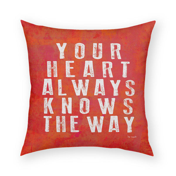 Your Heart Throw Pillow