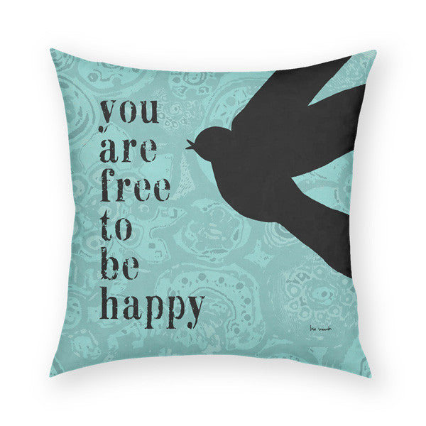 You Are Free Throw Pillow
