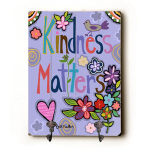Kindness Matters Decorative Wall Hanger