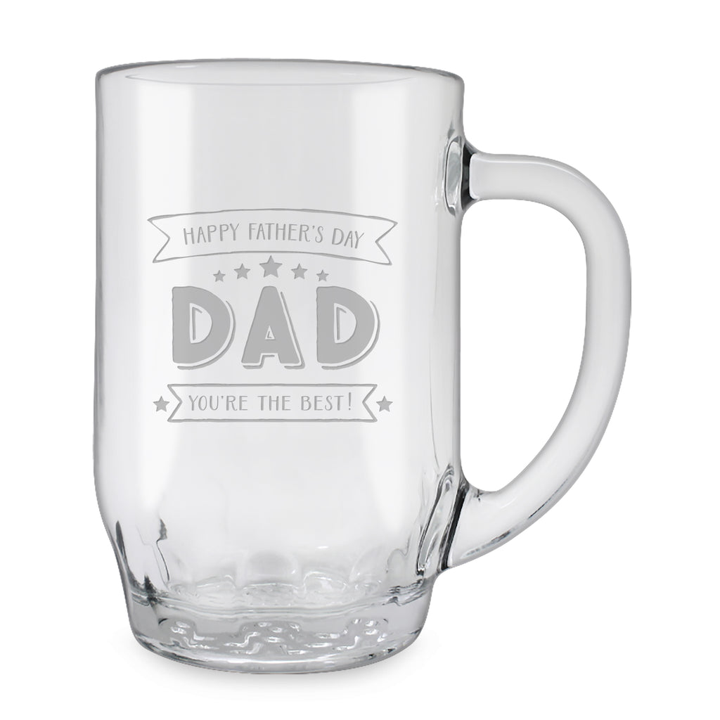 You're the Best Glass Mugs - Father's Day Gifts