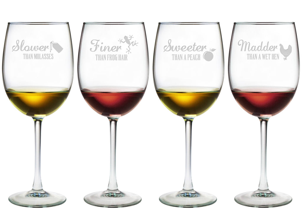 Southern Similies Wine Glasses