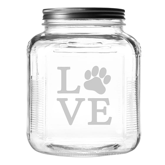 Love Paw Pet Food and Treat Jar - Premier Home & Gifts